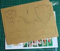 papercutting, Зульфия Дадашова, наборы для творчества, вырезание из бумаги