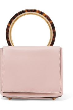 1649c2b4c0 Dusty-pink leather (Cow) Snap-fastening tab at open top Comes with dust bag  Weighs approximately Made in Italy