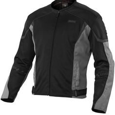 MotoCentric Squadron Jacket - BLOWOUT SALE! A vented mesh jacket with some versatility hidden inside. Complete with a full length and waterproof liner. Extensive use of mesh on the chest, arms and back and the sport fit, this is a jacket meant for aggressive riding when airflow is an absolute must. Protection covers the shoulders and elbows with CE rated armor and a foam pad for the back.