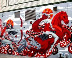 tristan eaton mural - Google Search