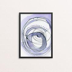 Watercolor Painting Print - Abstract Art Print - Colorful Watercolor Print - Large Wall Art - Colorful Painting Print - Nursery Decor Print (14.99 USD)