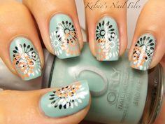 25 Colorful And Cute Nail Manicure Ideas For You | See more nail designs at http://www.nailsss.com/french-nails/2/
