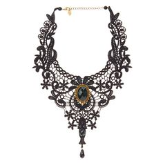 canada this ilk lace earrings looking glass black gothic black ...