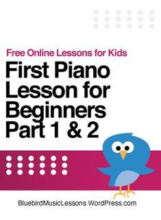 Give your kids their first piano lesson for FREE! This post includes two videos that introduce your kids to the basics and get them playing today. Also included are Amazon links to affordable keyboards and a digital piano that will work great to get started. - Bluebird Music Lesson Blog Piano Songs For Beginners, Beginner Piano Lessons, Piano Lessons For Kids, Easy Piano Songs, Kids Piano, Free Christmas Songs, Christmas Duets, Christmas Music, Xmas Songs