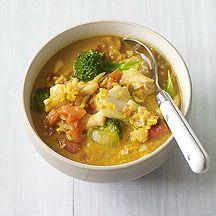 Curry de poisson aux légumes                                                                                                                                                                                 Plus