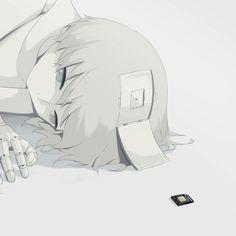 50 Dark Illustrations By Japanese Artist That Will Make You Think Dark Fantasy Art, Dark Art Illustrations, Illustration Art, Sad Anime, Anime Art, Manga Anime, Art Triste, Image Triste, Sun Projects