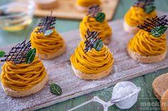 蛋糕食譜, 萬聖節-南瓜乳酪Mont blanc/蒙布蘭