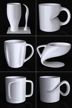 Coffee Mugs by Jerome Olivet
