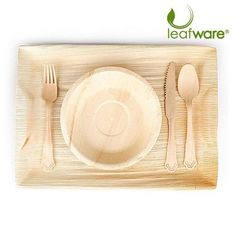 Disposable Bamboo Plates and Eco-Friendly Palm Leaf Dinnerware