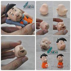 Ako urobiť pandrláka z plastelíny