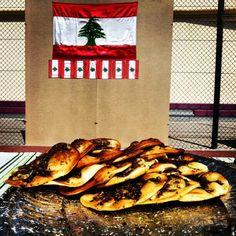 #manouche #zaatar #sumac #oliveoil #thyme #Lebanese #pastries #savoury #Lebanon #BrightonCollege #slices