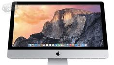 The new iMac with Retina display will make your desktop radiate in high-resolution glory. This is the most amazing iMac Apple has ever made. Latest Technology Gadgets, Computer Technology, Desktop Computers, Laptop Computers, Apple Cut, Cool Desktop, Hardware, Mac Mini, Retina Display