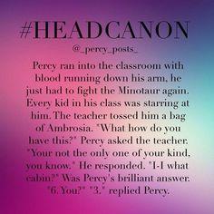 Percy Headcanon, Headcannon Percy Jackson, Headcannons Percy Jackson ...