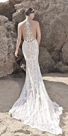 wedding dresses with tattoo effect 17