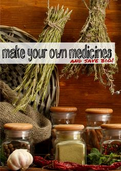 Sometimes folks think natural remedies are out of their budget, but this article shows you how you can save money making your own medicine! | herbology, herbalism, healing plants, herbal medicine