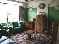 1930's suburban house with all original fixtures and fittings