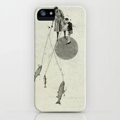 April iPhone Case by Ju. Ulvoas - $35.00