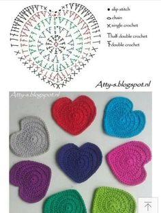 Best 12 ideas for crochet coasters free pattern charts Crochet Coaster Pattern, Crochet Diagram, Crochet Chart, Crochet Motif, Crochet Doilies, Crochet Flowers, Quick Crochet Patterns, Crochet Tutorials, Crochet Diy