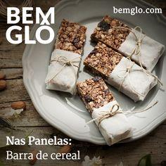 Hoje a gente te ensina a fazer uma barrinha de cereal caseira muito mais saudável e gostosa! Vem! ;) #bemglo #naspanelas #barrasdecereal