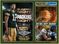 Its time~Sunday Night Football at my hometown field of Lambeau. It's snowing & the stands are a rockin'~Let's Go Pack!!!