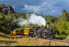 RailPictures.Net Photo: D&SNG 473 Durango & Silverton Narrow Gauge Railroad Steam 2-8-2 at Durango, Colorado by Chris Mohs