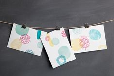 Hand Carved Stamp Cards | Maker Crate