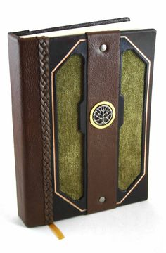 Moss Leather Journal by McGovernArts.deviantart.com on @DeviantArt