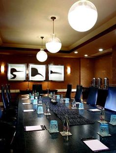 Modern Boardroom at Palomar Hotel DC // #bafco #bafcointeriors Visit www.bafco.com for more inspirations.