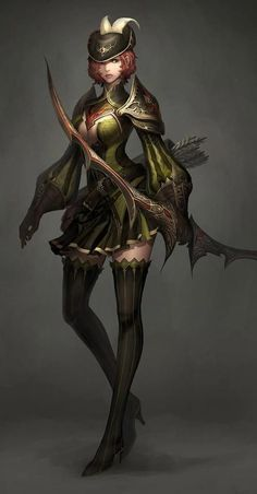 Картинки по запросу female character concept art