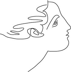 picasso line drawing