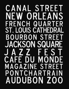 New Orleans Printable