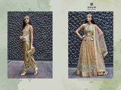 Shop Online Designwer Imported Western New Bollywood Style Dresses. A party essential Indo - Western dress by Crystal Zoya.