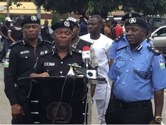 Lagos Police Arrest 10 Robbery Suspects Recover 6 Stolen Cars and tv