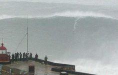 Mavericks wave. 35 feet tall