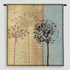One of my favorite discoveries at WorldMarket.com: In the Breeze Tapestry Wall Hanging