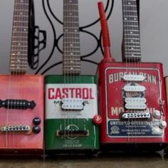 Bohemian Guitars is a new start-up that offers truly unique products; playable electric guitars made out of old oil cans and lunchboxes. The guitars look vintage and distressed but produce a sound that will gain the seal of approval of any guitarists....