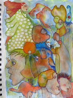 Intuitive drawing. Drawings, Party, Artist, Painting, Artists, Painting Art, Sketches, Parties, Paintings