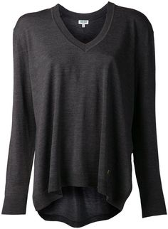 Kenzo high low sweater on shopstyle.com