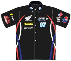 0d0b5587 Sublimated Racing Crew Shirts, custom sublimated racing apparel, racing  shirts, racing apparel Pit