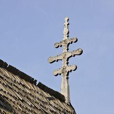 Olteanca Sinculesti VL.bislemn.cruce - Biserica de lemn din Olteanca-Sânculești…