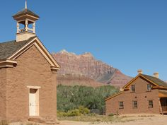 The school house in Grafton, Utah... You can't go in there any more... Since they restored it, they decided to secure it since vandals were ruining it...