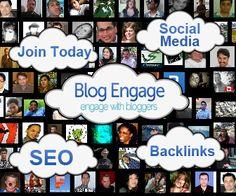 The Blog Engage Community Logo