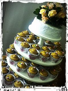 Chocotorta cupcakes con wrappers customizados.
