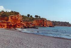 Playa Balcone. Ruta de los Acantilados.