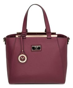 Another great find on #zulily! Burgundy Lexington Tote #zulilyfinds