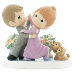 Limited Edition Couple Ballroom Dancing Figurine - Precious Moments - Love this!!