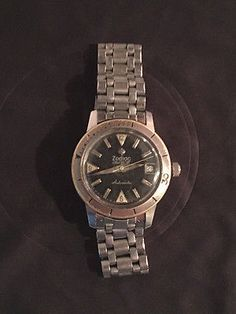 #Vintage zodiac sea wolf #automatic watch #seawolf swiss made collectible watch,  View more on the LINK: 	http://www.zeppy.io/product/gb/2/291856978535/