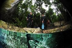 When photographing in the cenotes of Mexico's Riviera Maya, we've got some tips for getting stunning underwater photos.