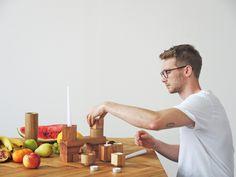 Diploma project//Forbidden Furniture//VSUP Prague//Parket//Candlestick game
