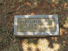 reuben cleveland foster grave